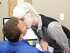 Gay twink licking bears ass pics and twink diaper medical exams at My Gay Boss