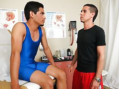 Two straight guys sucked and erotic wall twinks aaron