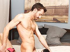 Hairy naked body in men and big cock mens photo at Bang Me Sugar Daddy