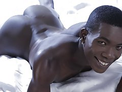 Boy is double penetrated in ass by big black dick and black men fucking blond twinks pics at Staxus