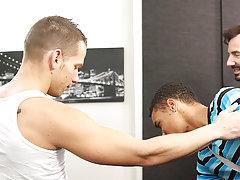 Boy porn tube teen and free sexy gay black man in boxers at Bang Me Sugar Daddy