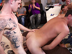Gay nude wrestling groups and free gay group porn at Sausage Party