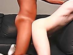 """Hey man, I want maybe I can fuck your butt"" said Ricky dominatrix interracial suc"