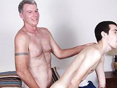 Hot old guy in underwear fucking and gay gangbang hardcore pics at Bang Me Sugar Daddy