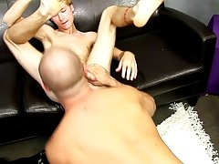 Meanwhile, jerking off his penis in his car, David discharges a load clear over his shoulder free hardcore gay anal at Bang Me Sugar Daddy