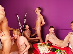 Anal group orgy gay and newsgroups male nude pictures at Crazy Party Boys