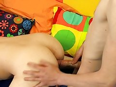 He shields his face from Chris' cumshot with a lollipop, only to suck the fluids from the hard candy gay french twinks