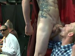 Men shirtless group and free group gay sex videos at Sausage Party