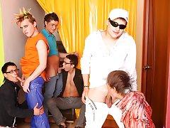 Group sex gay fetish and gay jocks videos big cock group free at Crazy Party Boys