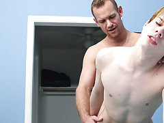 When that guy acquires a hold of Kyler's taut ass, this chab copulates him doggy and missionary, this guy even fucks him in the air gay double an