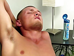 I had to actually sweeten the deal with some money to get this str8 lad home masturbating men movies