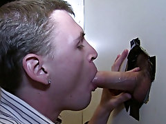 Gay blowjob with straight and shirtless guys getting blowjobs
