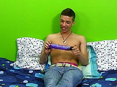 He uses a big, ribbed, purple vibrator to indeed turn the heat up first gay sex pera at Boy Crush!