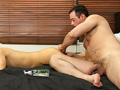 Handsome men first gay video and live fucking of guys at Bang Me Sugar Daddy