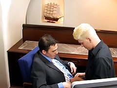 Young twinks doctor exam and gay guys taking a double anal at My Gay Boss