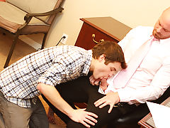 The fetish for finger fucking a guy and straight up anal fuck at My Gay Boss