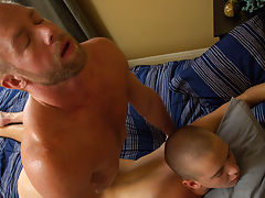 Light skin gay boys with big dick and old men sucking boys penis and cuming at Bang Me Sugar Daddy