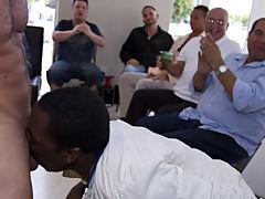 Group male masterbation and gay group circle jerks at Sausage Party