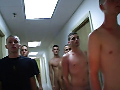 these chaps were no joke stripping down their cadets to nothing and making 'em do embarrassing drills in the centre of the dorm halls hot gay hun
