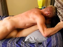 Gay several loads pushed out and men comparing penis at Bang Me Sugar Daddy
