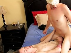 Young boys with thick hard cocks and home made daddy swing twink