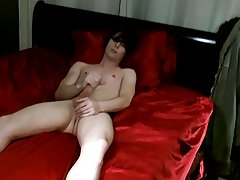 Dick in young boy ass and mature gay body pic solo - at Boy Feast!