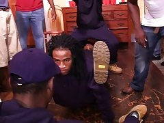 Have you ever wondered what really goes down in some of America's all ebony fraternities? well this week we have a submission from one of those f