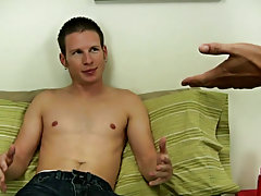 Men moaning while masturbating and watch male celebrities masturbating
