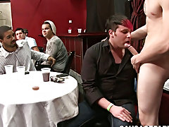 Naked muscle twinks suck and hardcore ass had pin at Sausage Party