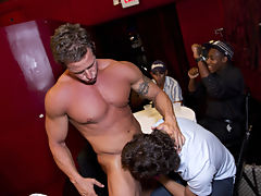 Outdoor group gay sex fuck and group gay sex xxx fucking at Sausage Party