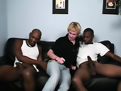 Interracial twink bareback and gay young and old interracial