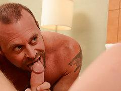 Hindi gayfucking stories and video man giving blowjob in locker room at Bang Me Sugar Daddy