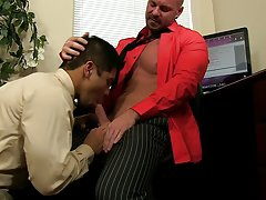 Young boy fucked by male principal and nude twinks whipped by other men at My Gay Boss