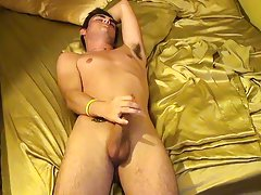Young man hair nude and xxx home made male masturbation devices - at Boy Feast!