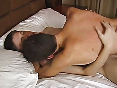 Things receive hawt and heavy quickly between these 2 as kiss, undress and grind their bodies together first time anal gay at Teach Twinks