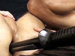 Bondage made to eat big cum pic and super hot uncut naked black men