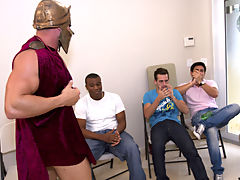 Gay rimming groups and gay group sex free at Sausage Party