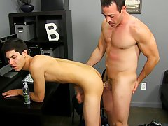 Gay friend rubbing dick against straight friend and group of guys wanking in front of each other at I'm Your Boy Toy