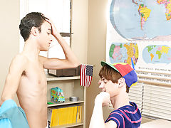 Naked black uncut twinks and huge daddy twink sissy at Teach Twinks