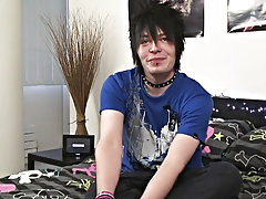 Alex Phoenix may be British but his overall look screams Japanese, and what a look he has guys jerking it at Homo EMO!
