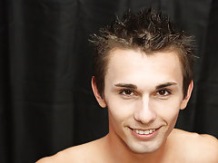 Gay twinks wearing makeup and young and cute boys jerking and sucking