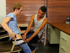 Naked black twink at Teach Twinks