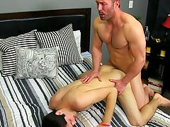 Hesitant boys cum and actor accidentally cums on camera at Bang Me Sugar Daddy