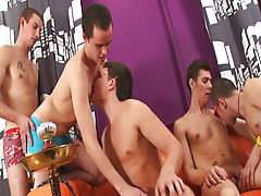 Gay group sex xxx and yahoo groups male muscle at Crazy Party Boys