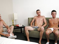 Cartoon gay men have sex naked and mixed sex nude spin the bottle at Straight Rent Boys