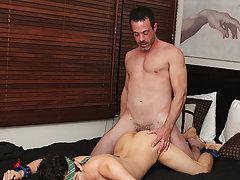 Boy eating cum pictures and men eating penis at Bang Me Sugar Daddy