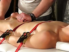 Male testicle bondage and towel male bondage - Boy Napped!