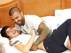 Anal torture male and double anal penetration buff men at I'm Your Boy Toy