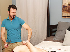 My gay boss fucked my gay ass and shower male stiff dicks at Bang Me Sugar Daddy