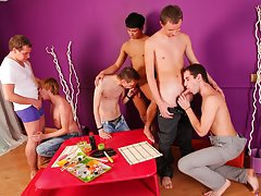 Gay men masturbation groups in texas and gay asian group at Crazy Party Boys
